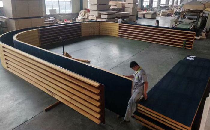 厂家定做加工圆形建筑模板
