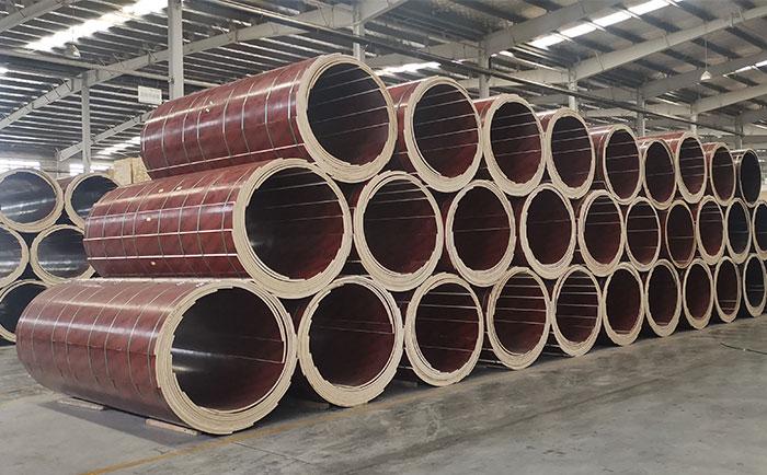 承德圆柱木模板