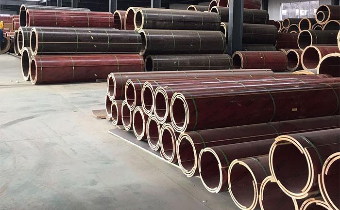 混凝土圆柱木模板厂家仓储