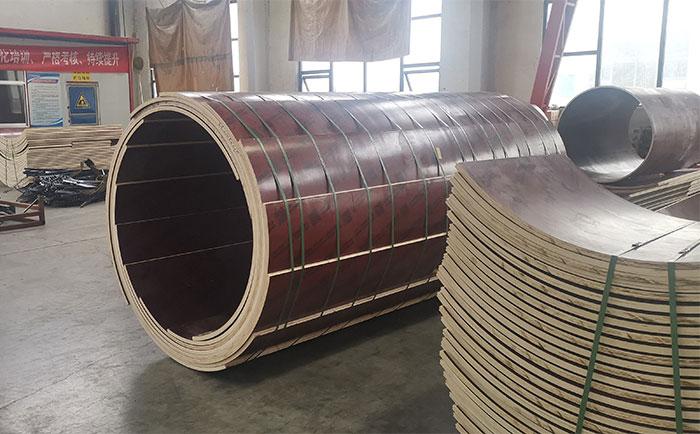 丹东木质圆柱模板