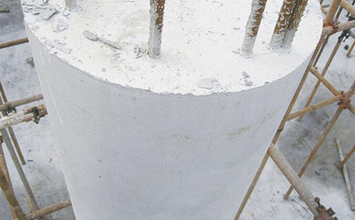 木质圆模板拆模圆形柱子成型