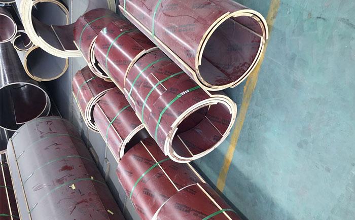 定型圆柱木模板