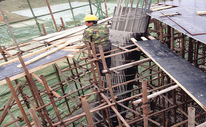 木质圆柱模板现浇混凝土