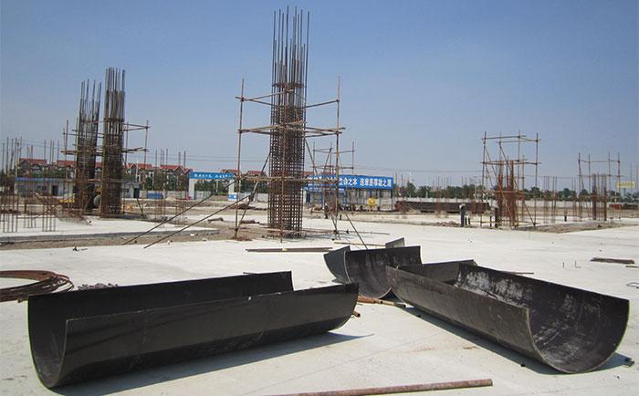 晋城圆柱木模板工地施工